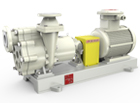 TICZF no leakage fluorine lined magnetic self-priming pump