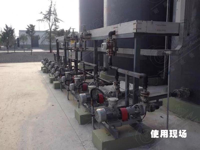 磁力泵使用现场