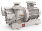 TCZF Non-leakage fluorine lining magnetic self-priming pump