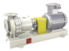 TICGF no leakage fluorine lined high-temperature magnetic pump