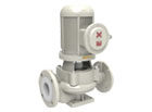 TLF fluorine lined pipeline centrifugal pump