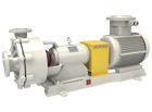 TMU-ZKfluorine lined anti-corrosion abrasion resistance centrifugal pump