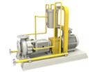 THJF石油化工流程衬氟离心泵